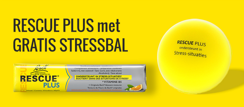 RESCUE Plus met gratis stressbal